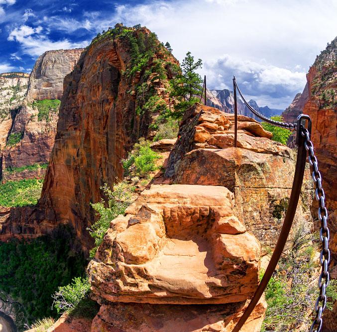 Angels Landing Trail - Zion National Park